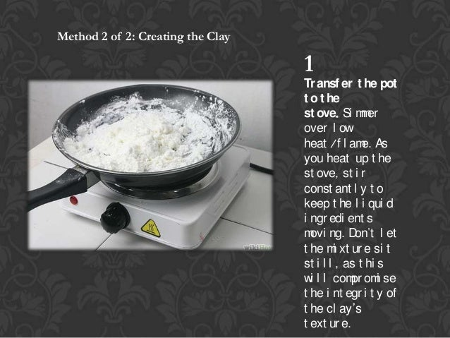 how to cook polymer clay