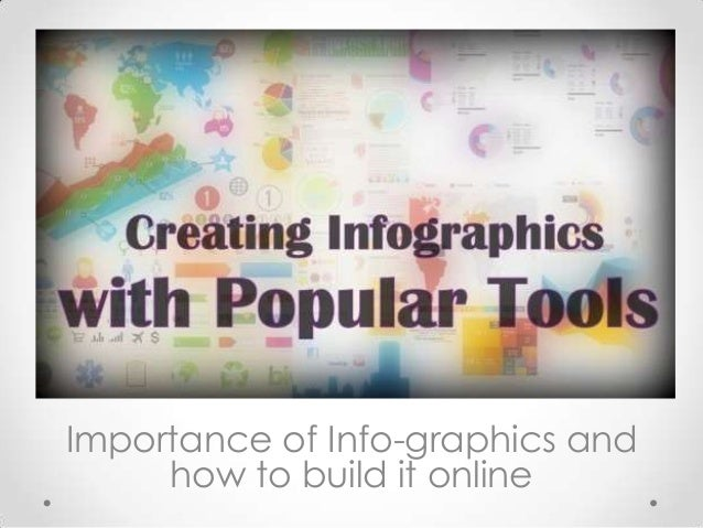 Importance of Info-graphics and how to build it online