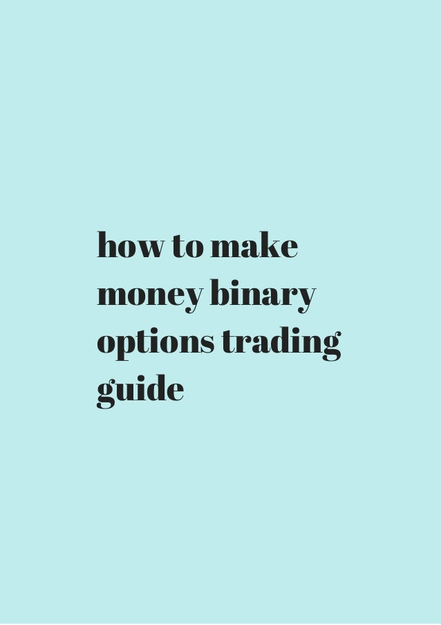 How do i make money trading options