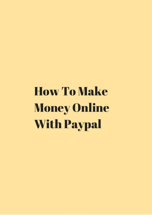How to make money with forex online