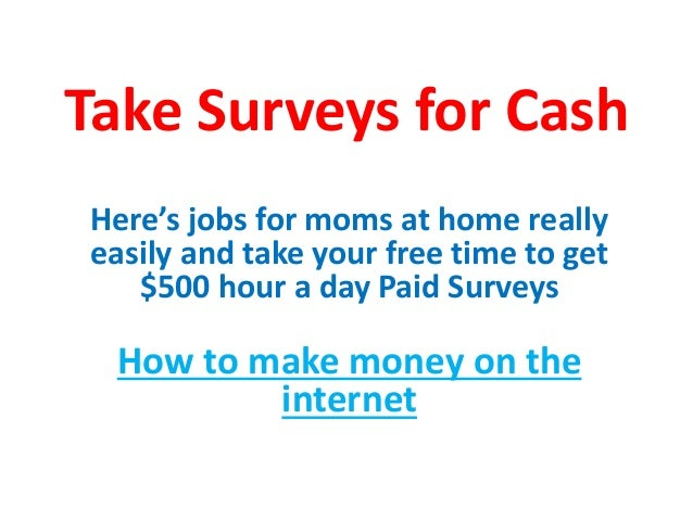 How To Make Money On The Internet Ways To Make Extra