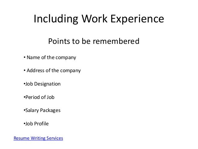 Perfect Resume Example Perfect Resume Example  How To Make A Perfect Resume Step By Step