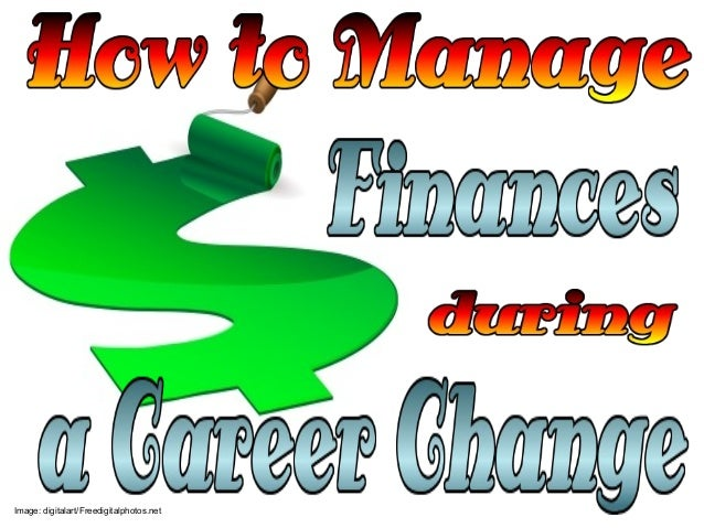 How to Manage Finances During Career Change