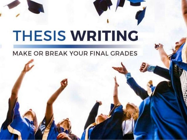 How to write an economics thesis