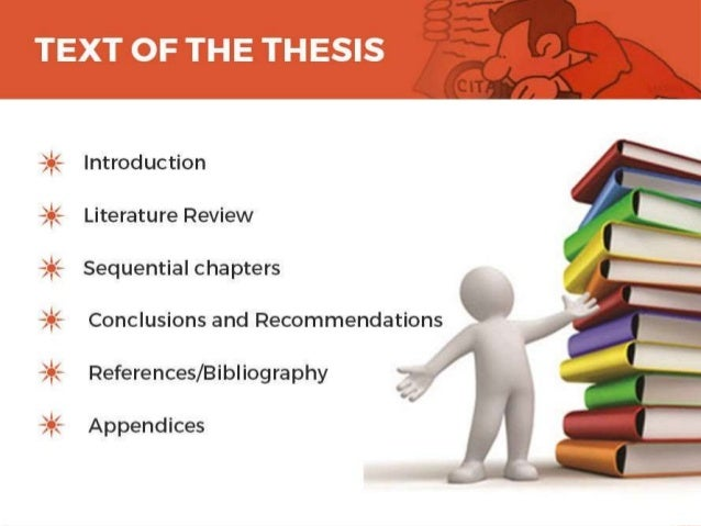 writing a masters thesis in education Master's Thesis: General Tips