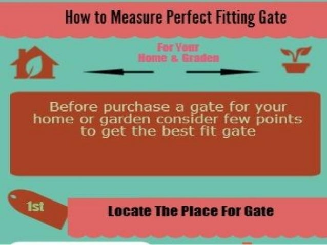 How To Measure Perfect Fitting Gate
