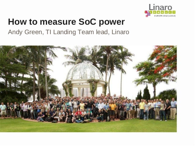 LCE12: How to measure SoC power