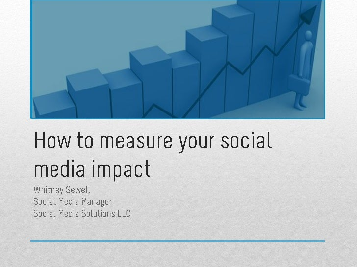 How to measure your social media impact