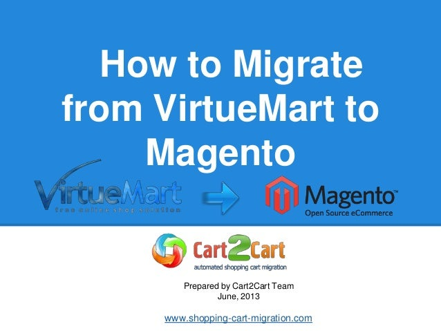 How to Migrate from VirtueMart to Magento
