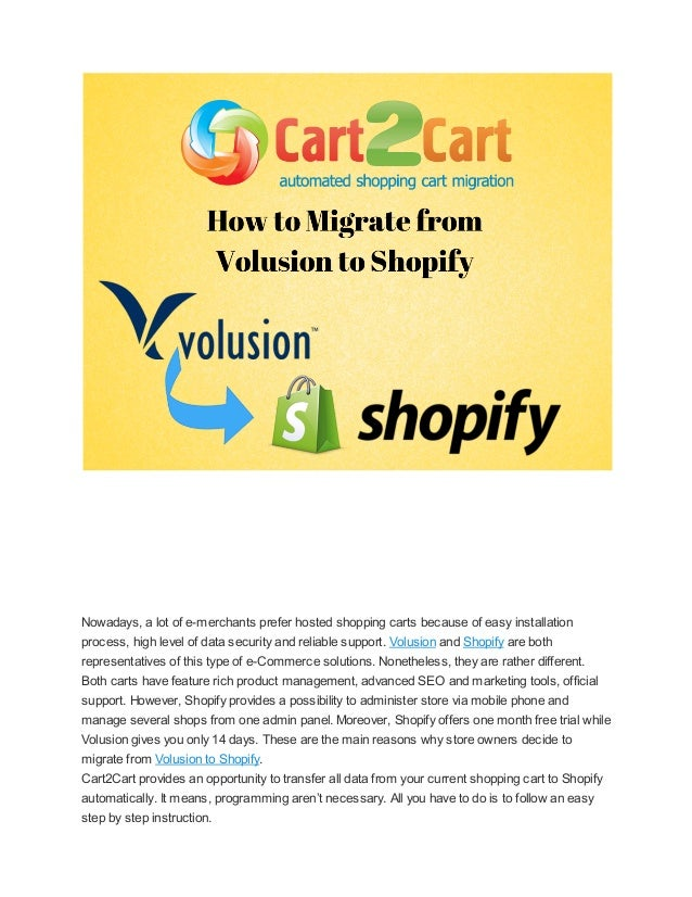 Nowadays, a lot of e-merchants prefer hosted shopping carts because of easy installation process, high level of data secur...