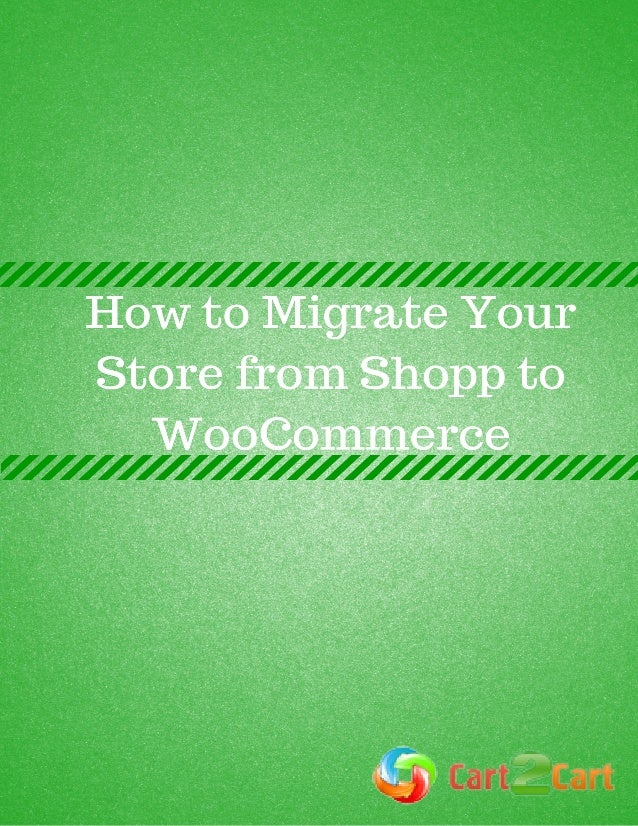 How to Migrate Your Store from Shopp to WooCommerce WordPress is a leading content management system (CMS), which has seve...
