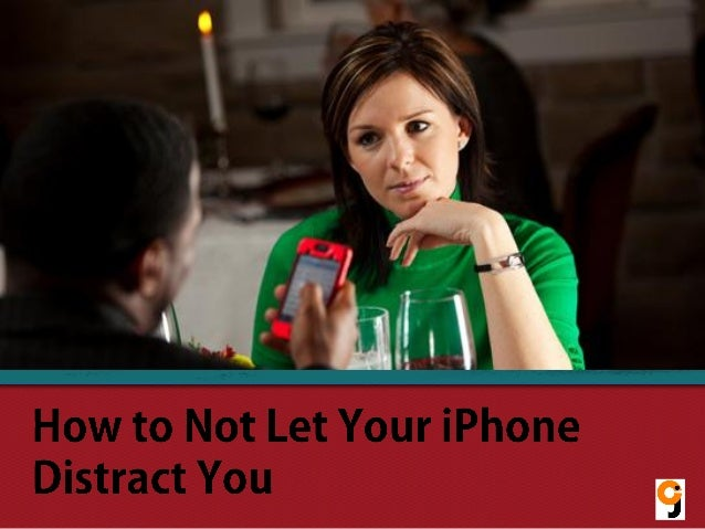 How to Not Let Your iPhone Distract You