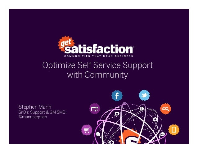 Providing Outstanding Self-Service Support with Community