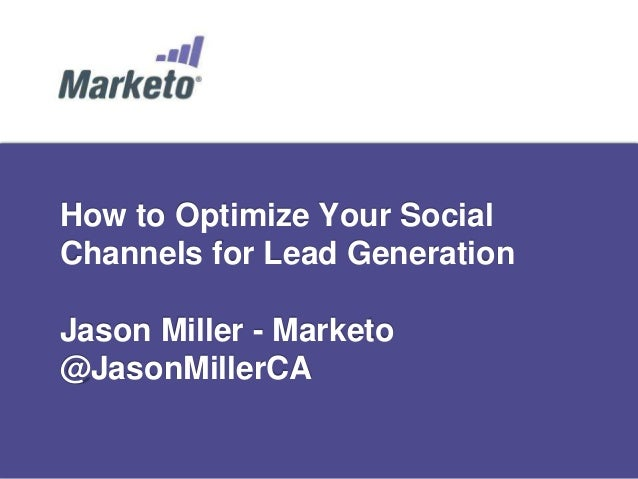 How to Optimize Social Media For Lead Generation