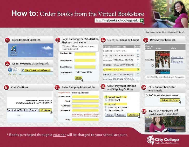 Virtual Bookstore Book Return Policy  You may make returns of course materials if: a) you provide a copy of the voucher or...