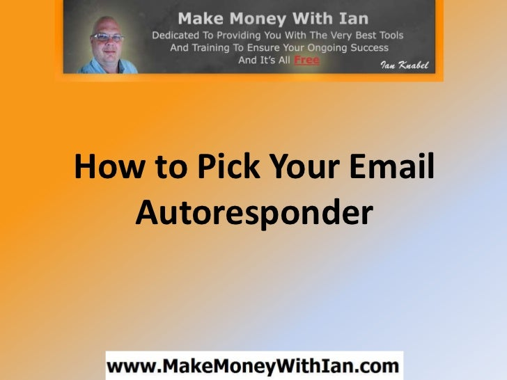 How to pick your email autoresponder