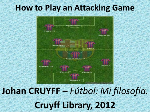 Johan CRUYFF - How to Play an Attacking Game