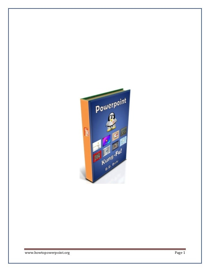 Powerpoint Book