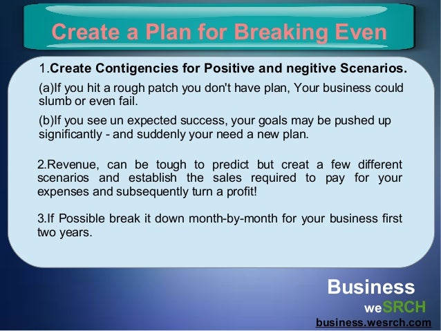 How to prepare business plan
