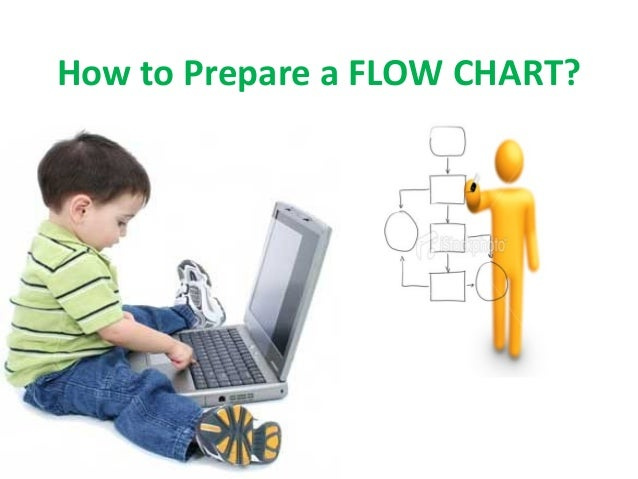How to prepare a flow chart