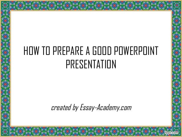 how to prepare a powerpoint presentation 'a presentation about myself' – i think this is one of the most dreaded speech topics talking about yourself – it's difficult to know what your audience want to know, and how much you should tell them.