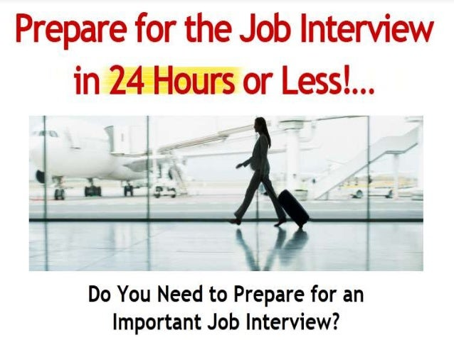 How to prepare for a job interview at mcdonalds