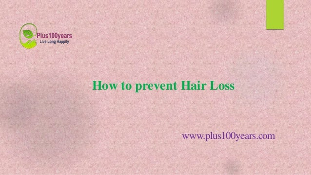 How To Prevent Your Hair From Thinning