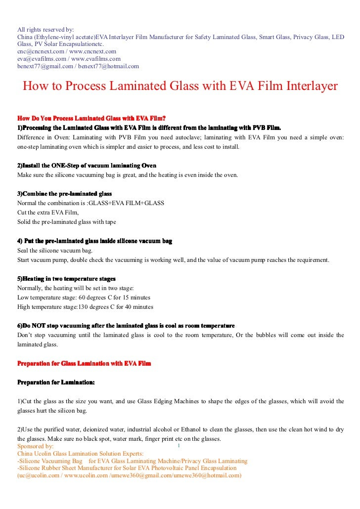 All rights reserved by:China (Ethylene-vinyl acetate)EVA Interlayer Film Manufacturer for Safety Laminated Glass, Smart Gl...