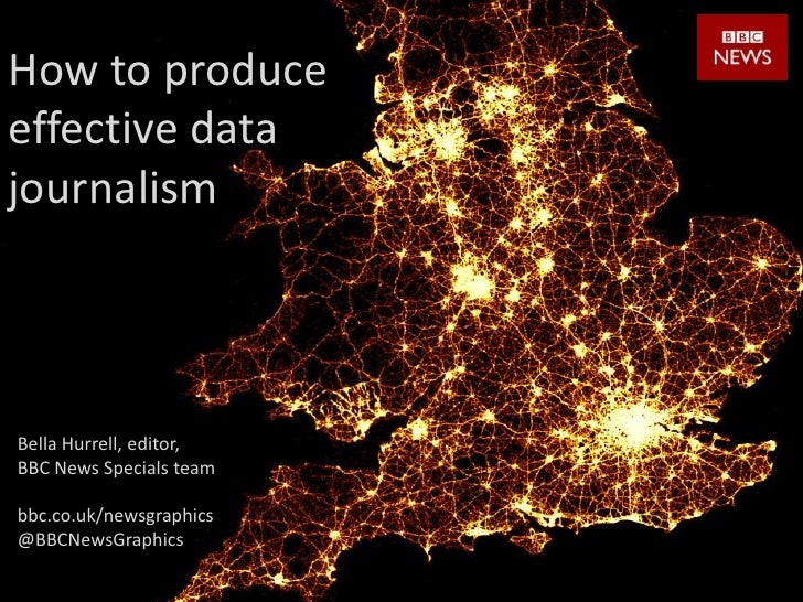 How to produce effective data journalism