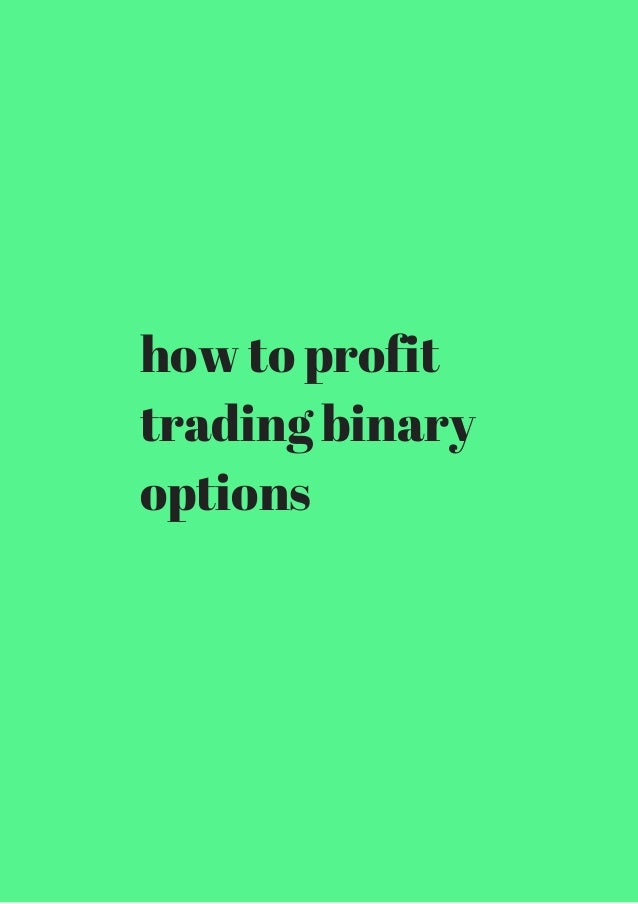 Is binary options trading worth it