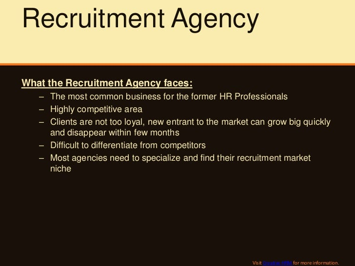 cover letter to recruiter agency
