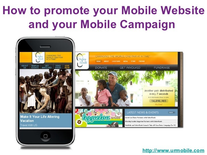 How to promote your Mobile Website and your Mobile Campaign