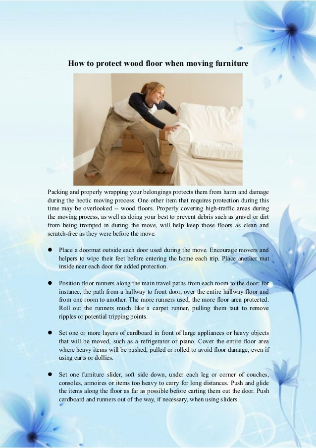 how to protect wood floor when moving furniture protect your wood floors y s way flooring