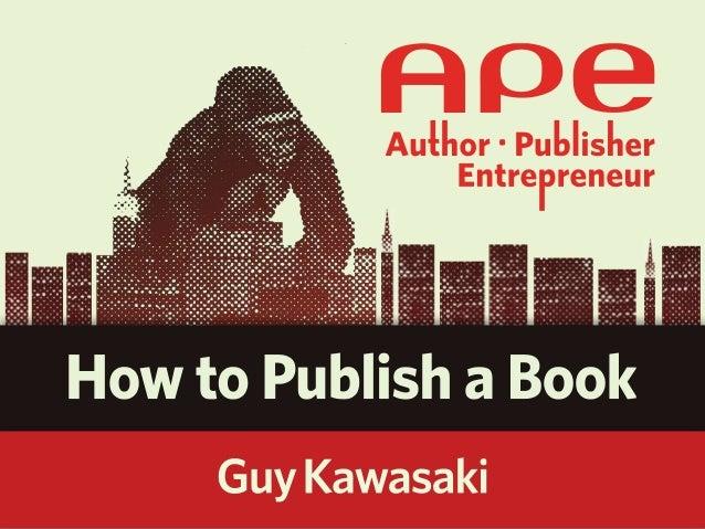 Howto publish