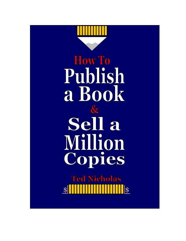 Howto publishabookandsellamillioncopies
