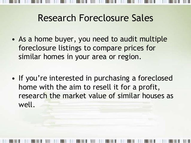Is it really a good idea to purchase a foreclosed home?