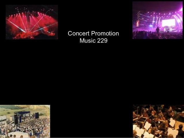 Concert Promotion Music 229