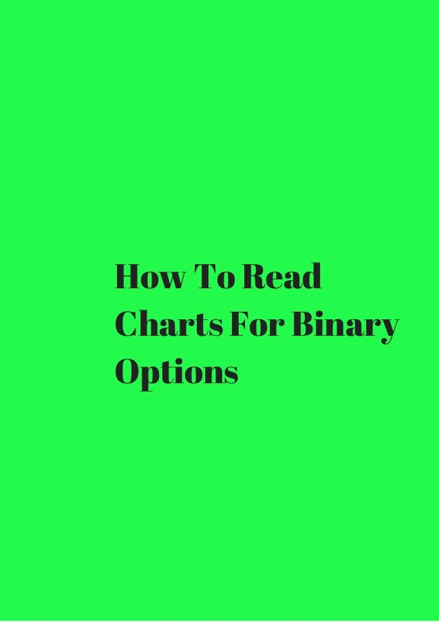 How to read binary option charts