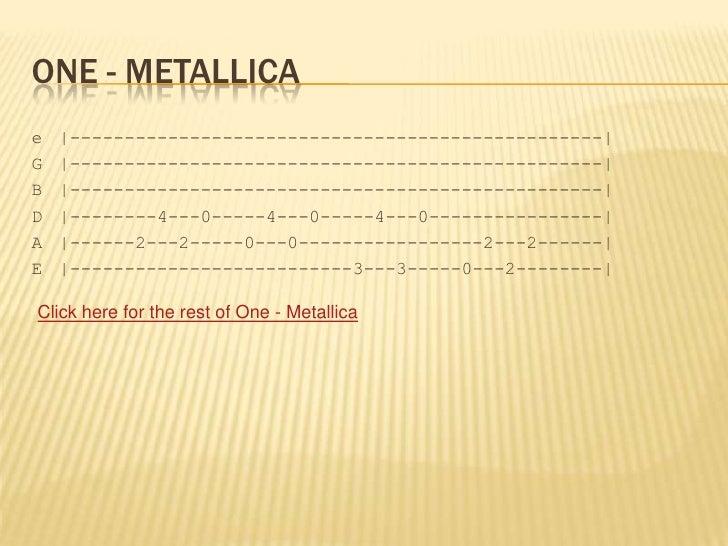 Guitar : guitar tabs metallica one Guitar Tabs Metallica One and ...