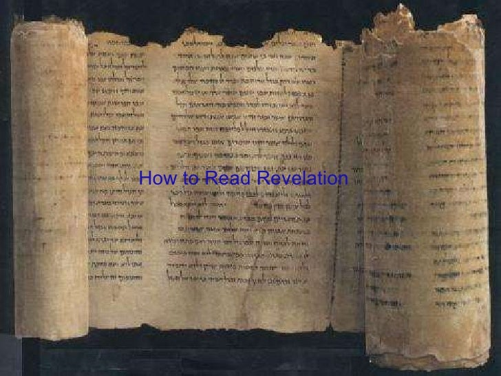 Wk1-How To Read Revelation
