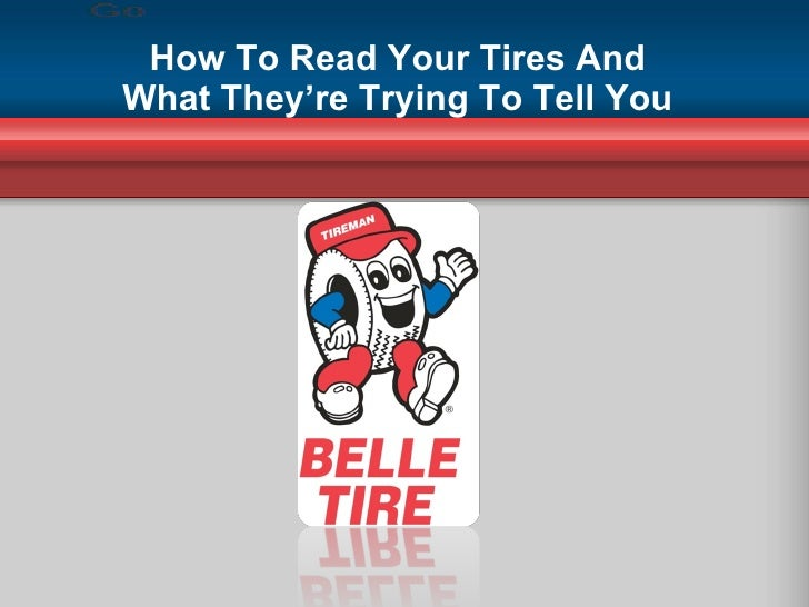 How To Read Your Tires And What They're Trying To Tell You