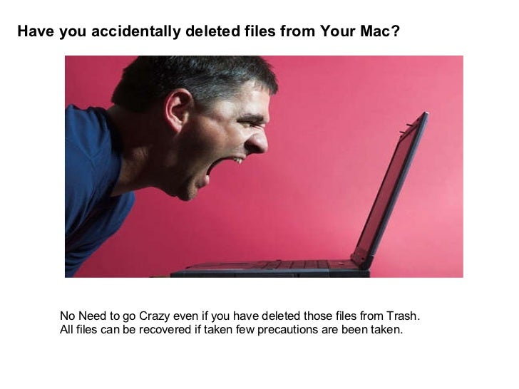 Have you accidentally deleted files from Your Mac? No Need to go Crazy even if you have deleted those files from Trash. Al...