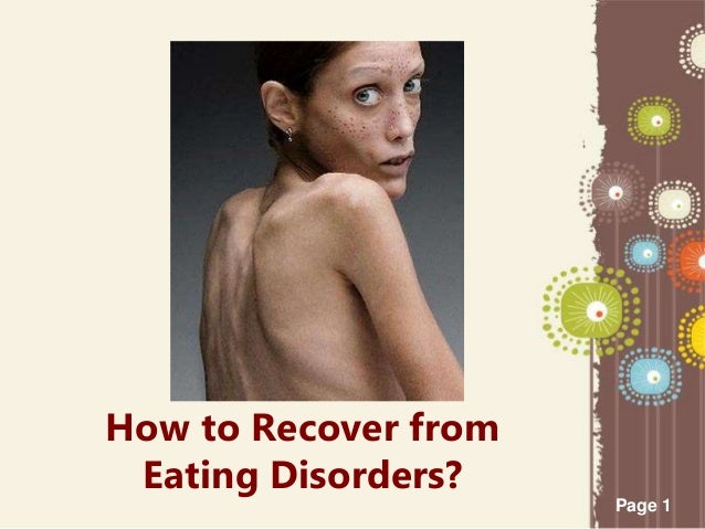 How to recover from eating disorders