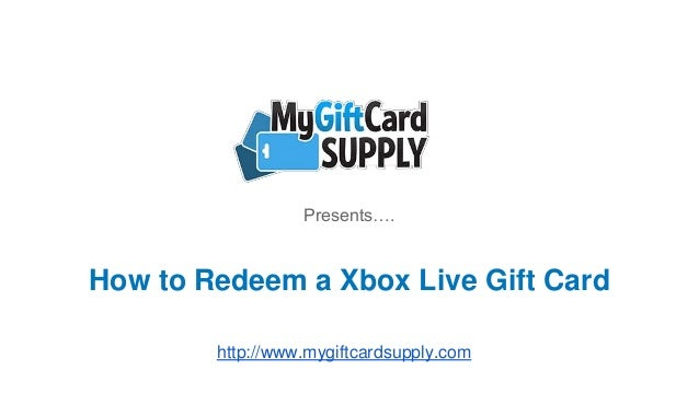 can't redeem xbox gift card