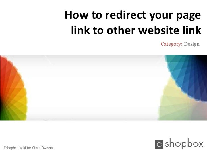 How to redirect your page                                  link to other website link                                     ...