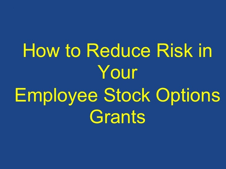 How to expense employee stock options