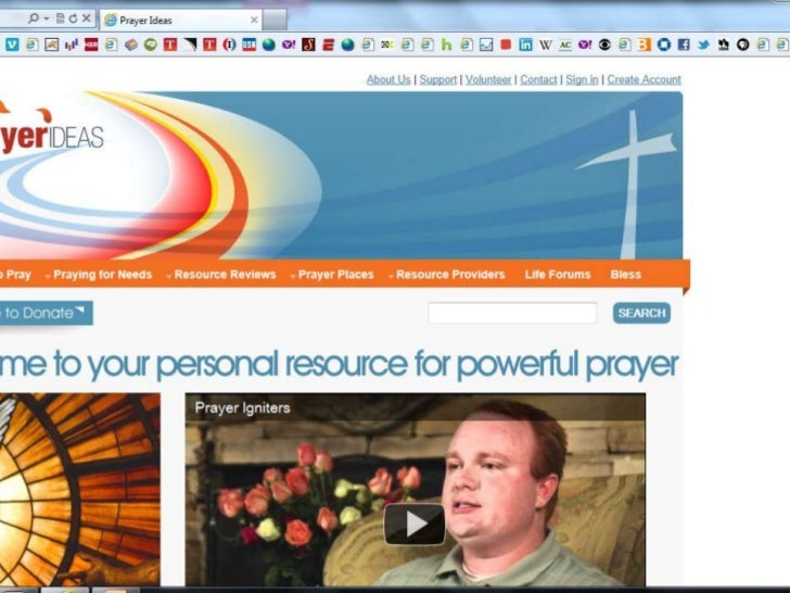 How to register for PRAYER IDEAS LIFE FORUMS
