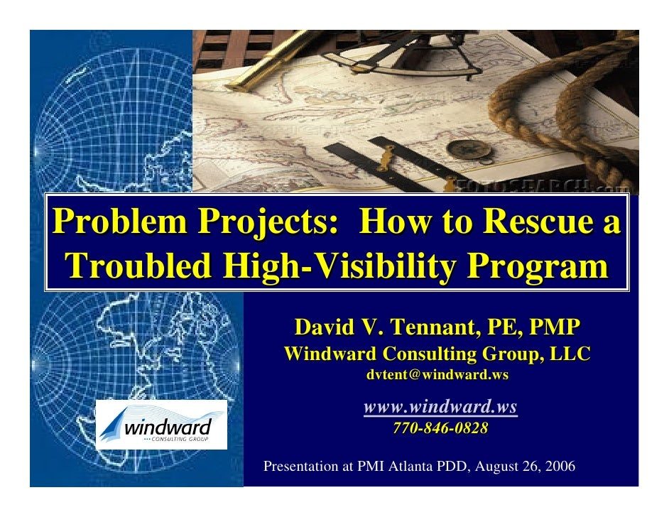 How To Rescue A High Visibility Program