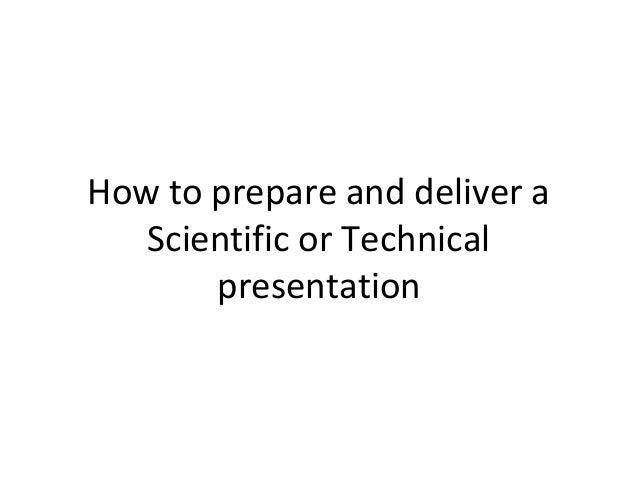 How do i write an oral report?