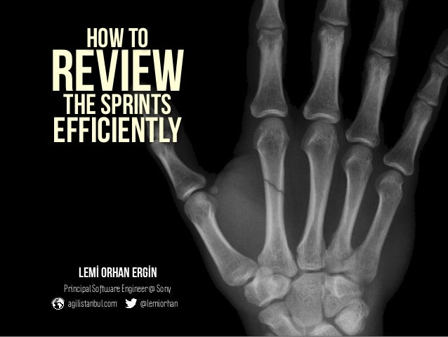 How To Review The Sprints Efficiently